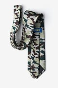 Woodland Camo Beige Tie Photo (1)