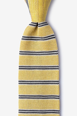 French Stripe Knit Tie