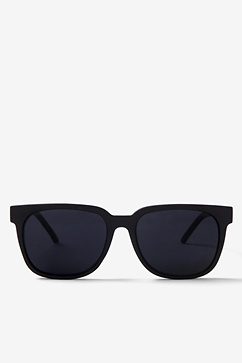 Black Laguna Retro Sunglasses