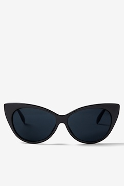 Black Stone Fox Cateye Sunglasses
