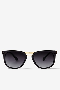 Black Zoe Vintage Sunglasses