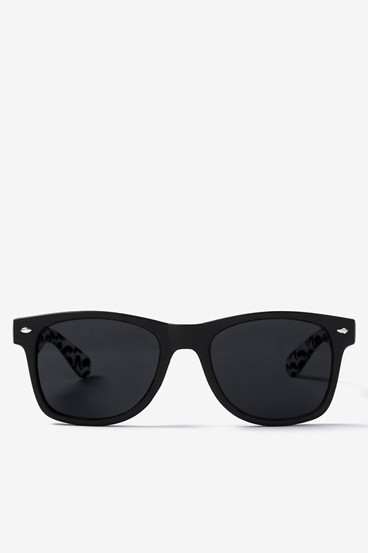 Mustache Black Sunglasses by Scarves.com