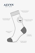 85 Digits of Pi Black Sock Photo (1)