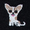 Chihuahua Dog Black Sock