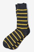 Culver Stripe Black Sock Photo (0)