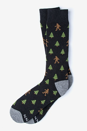 _Sasquatch|Big Foot Black Sock_