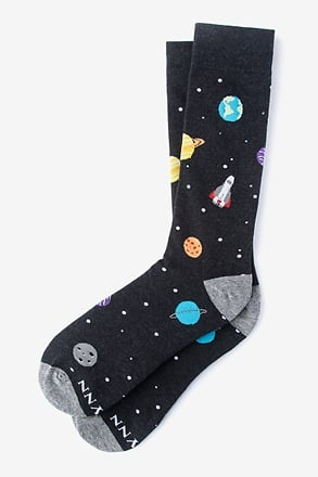 Space Black Sock