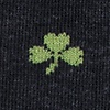 Shamrock Black Sock