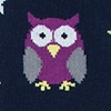 Black Carded Cotton Owl Night Long
