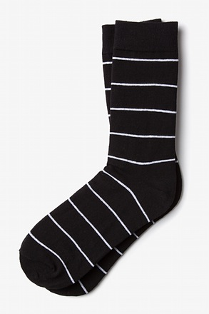 _Whittier Stripe Black Sock_
