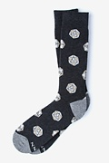Dungeons and Dragon Socks  | D&D | D20 Black Sock Photo (0)