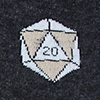 Black Carded Cotton Yes They're Natural | D&D | D20