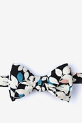 Black Cotton Arnold Self-Tie Bow Tie
