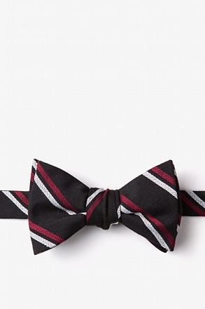 Beasley Black Self-Tie Bow Tie