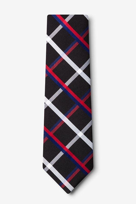 Bellingham Black Extra Long Tie Photo (1)