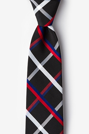 Bellingham Black Extra Long Tie