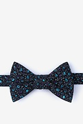 Black Cotton Boyce Self-Tie Bow Tie