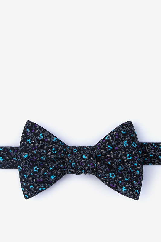 Boyce Black Self-Tie Bow Tie Photo (0)
