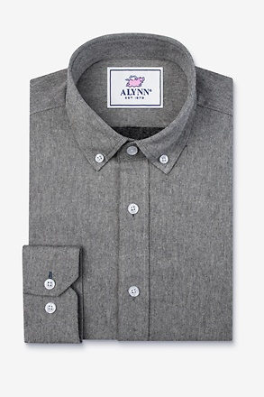 Caden Black Classic Fit Casual Shirt