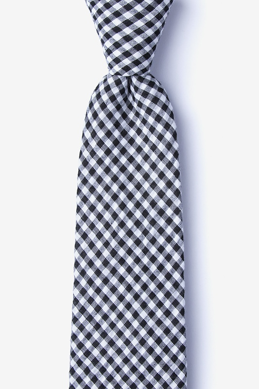 Chardon Black Extra Long Tie Photo (0)