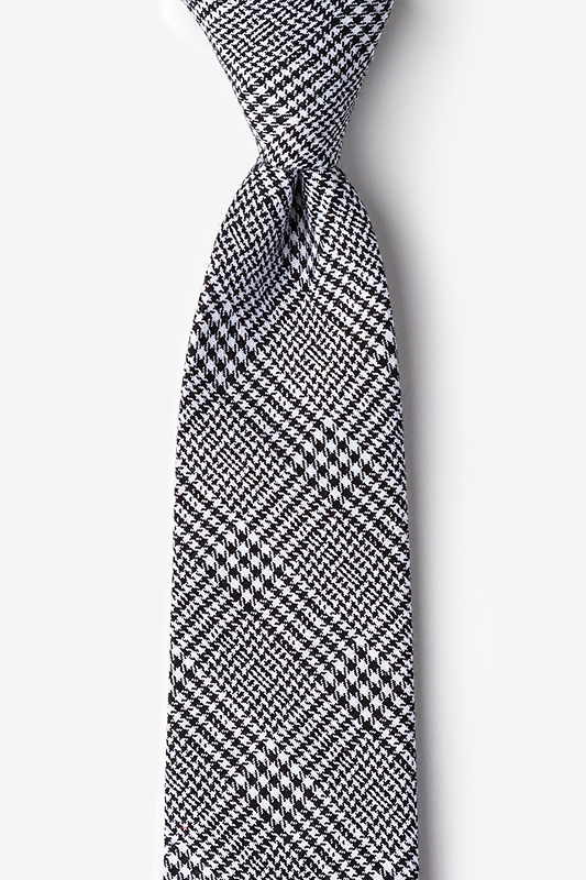 Cottonwood Black Extra Long Tie