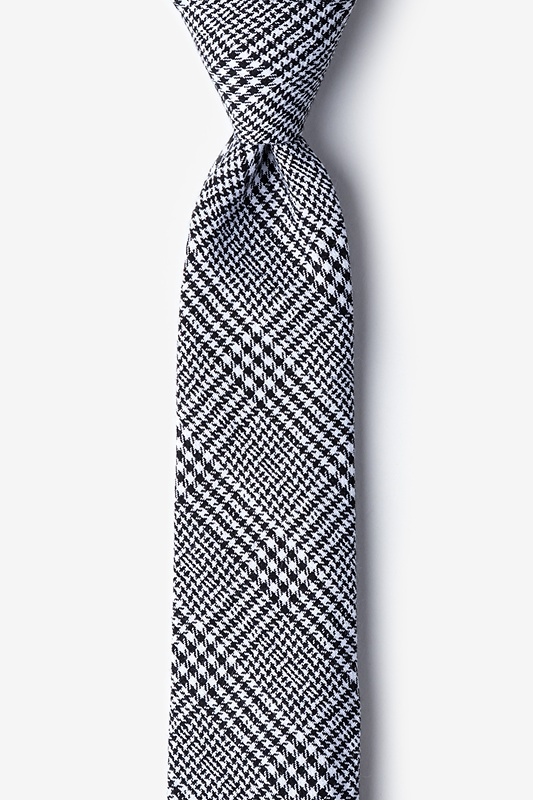 Cottonwood Black Skinny Tie Photo (0)