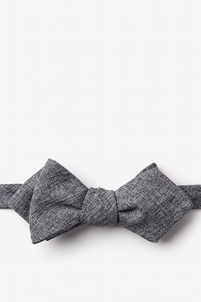 Denver Black Diamond Tip Bow Tie