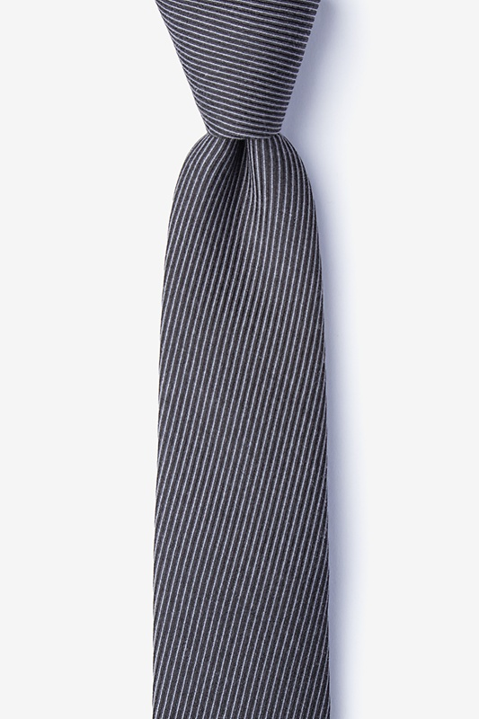Dover Black Skinny Tie Photo (0)