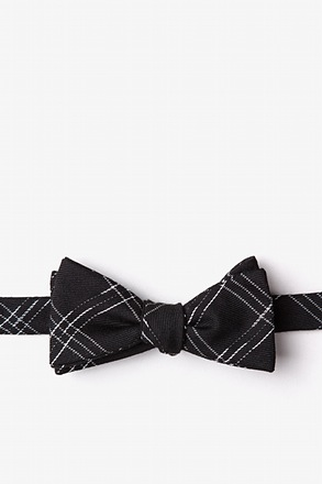 _Escondido Black Skinny Bow Tie_