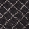 Black Cotton Glendale Extra Long Tie