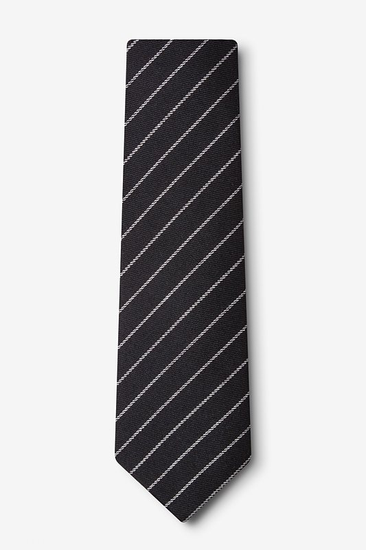Glenn Heights Black Extra Long Tie Photo (1)