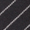 Black Cotton Glenn Heights Tie