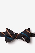 Black Cotton Houston Self-Tie Bow Tie
