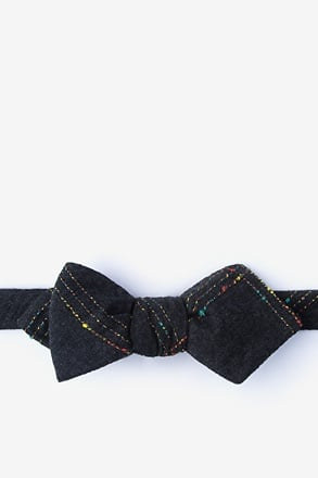 _Hunter Black Diamond Tip Bow Tie_