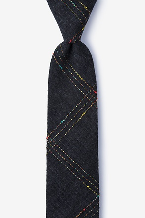Hunter Black Skinny Tie