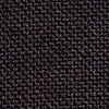 Black Cotton Katy Extra Long Tie