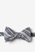 Black Cotton Katy Self-Tie Bow Tie