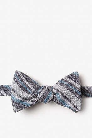 Katy Black Self-Tie Bow Tie