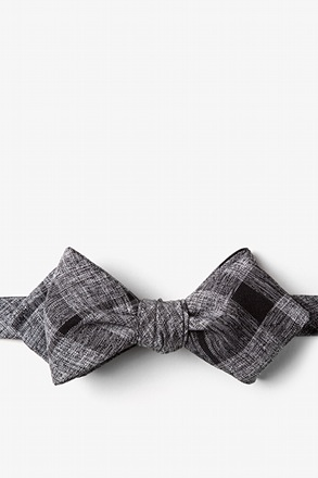 Kirkland Black Diamond Tip Bow Tie