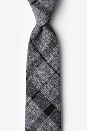 Kirkland Black Extra Long Tie