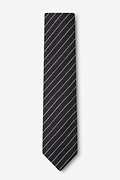 Lewisville Black Skinny Tie Photo (1)