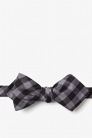 Pasco Black Diamond Tip Bow Tie