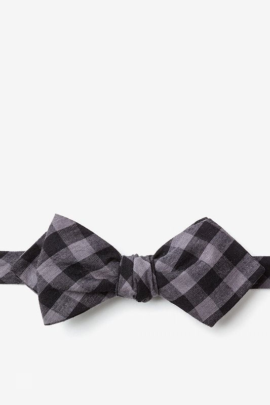 Pasco Black Diamond Tip Bow Tie Photo (0)