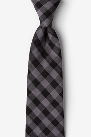Pasco Black Extra Long Tie