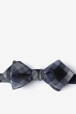 _Richland Black Batwing Self-Tie Bow Tie Batwing Bow Tie_