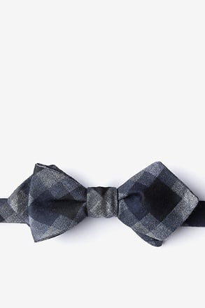 Richland Black Batwing Self-Tie Bow Tie Batwing Bow Tie