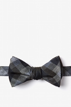 _Richland Black Self-Tie Bow Tie_