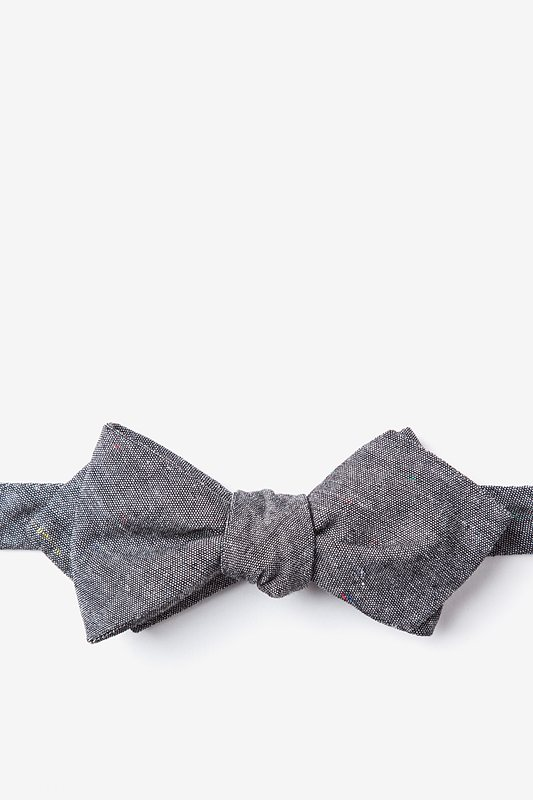 Teague Black Diamond Tip Bow Tie Photo (0)