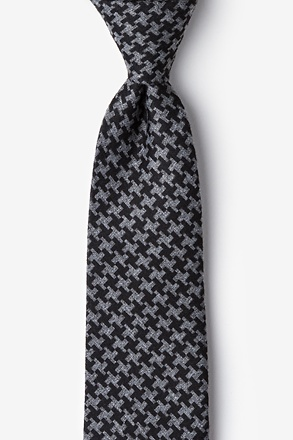 Tempe Black Extra Long Tie