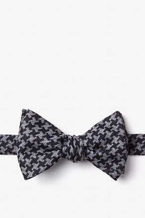 Tempe Black Self-Tie Bow Tie